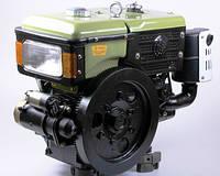 Двигатель SH195NDL - Zubr (12 л.с.) с электростартером для  для мотоблоков, мототракторов