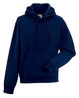 Толстовка Russell  Adults Authentic Hooded Sweat  French Navy 2XL