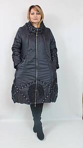 Длинное женское плащевое пальто производство Турция