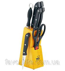 Набор кухонных ножей Wellberg Builefeld-280 8 предметов (WB-280_psg)