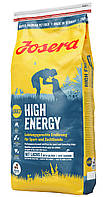 Josera High Energy (Йозера Хай Энерджи) сухой корм для активных спортивных собак 15 кг