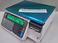 Весы с печатью этикетки  DIGI SM-100 B CS Plus двухстрочный индикатор, кассетный принтер (RS232, Ethernet)