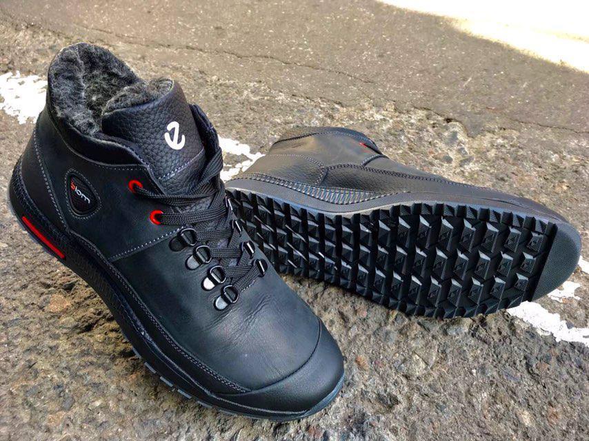 Мужские зимние ботинки ECCO Diom натуральная кожа