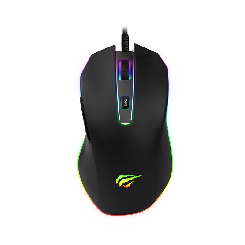 Мышь игровая проводная Havit HV-MS837  black