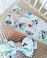 Детское одеяло конверт для мальчика, фото 1