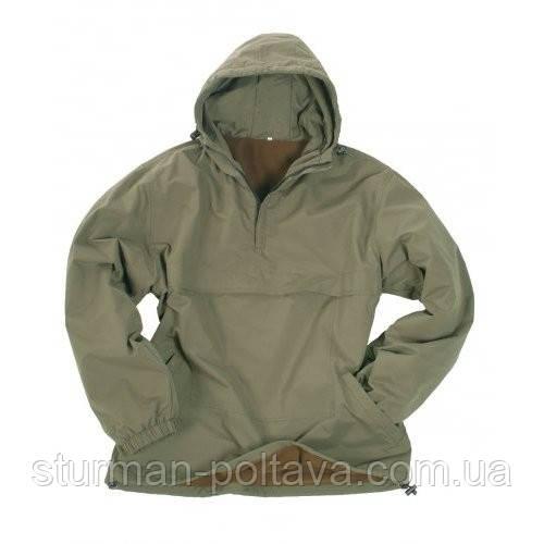 Куртка мужская демисизонная COMBAT ANORAK WINTER SCHWARZ MIL-TEC® цвет олива  размер L