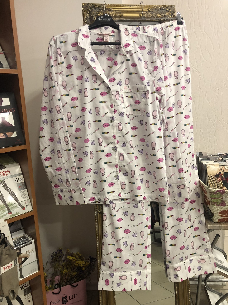 Хлопковая пижама Victoria's Secret., фото 1