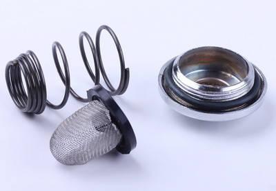 Крышка слива масла (пробка, масляный фильтр, пружина) - 4T, фото 2
