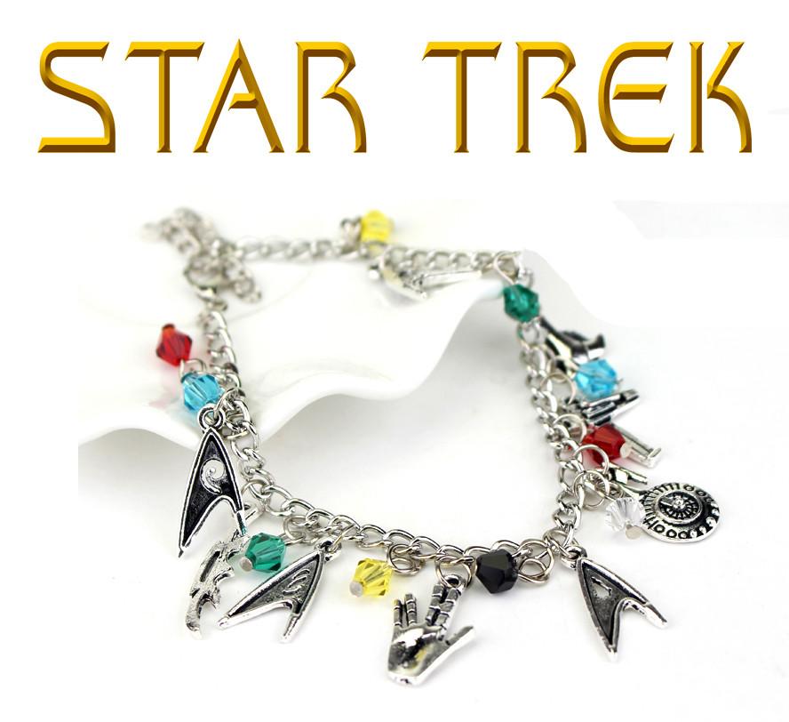 Браслет с подвесками из Star Trek Звездный Путь