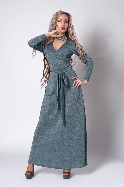 dcd329cd4147097 Платье мод 724-2 ,размер 46,48,50 зеленое, цена 430 грн., купить в ...