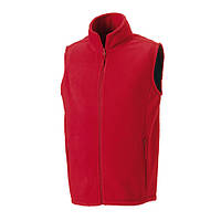 Флисовая жилетка Russell Mens Outdoor Fleece Gilet Classic Red S