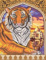 Схема для вышивки бисером Тигр в арке РКП-258