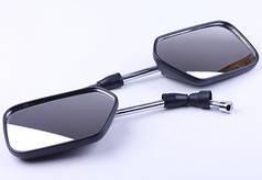 Зеркала квадратные 10 mm (пара) - Альфа