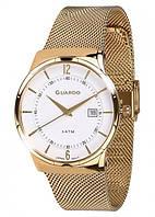 Чоловічі наручні годинники Guardo P12016(m) GW