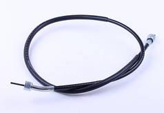 Трос спидометра L-980mm (верх квадрат - внутрен.резьба, низ квадрат - внутр.резьба) - Yamaha