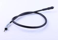 Трос спидометра L-840mm (верх квадрат - внутрен.резьба, низ квадрат - под болт) - Yamaha