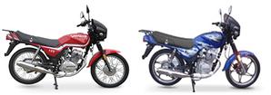 Sonic, ZS 125-J, CG-125, CG -150, CB-150
