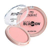 Компактные румяна для лица Malva «Silky Blush Show» PM-3501 №01