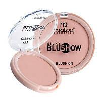 Компактные румяна для лица Malva «Silky Blush Show» PM-3501 №02