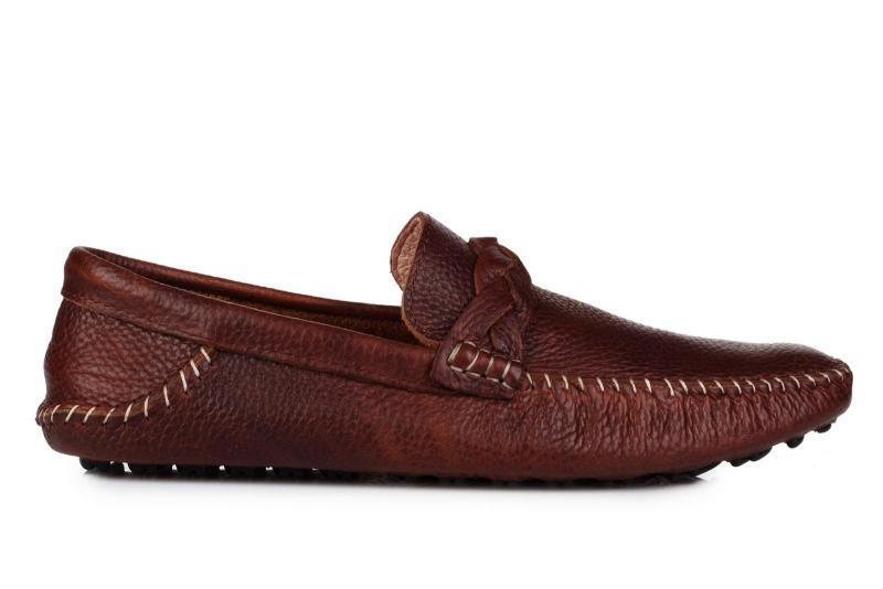 Оригинальные мужские мокасины Timberland Bundle Moccasin - Brown тимберленд коричневые