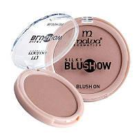 Компактные румяна для лица Malva «Silky Blush Show» PM-3501 №05