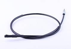 Трос спідометра L-1070mm (верх квадрат - внутрішня різьба, низ вилка - під болт) - ТАКТ