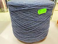 Пряжа для вязания на бобине.