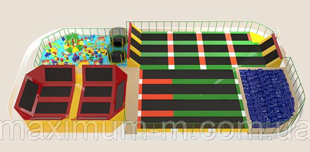 игровые батуты для детей купить в москве