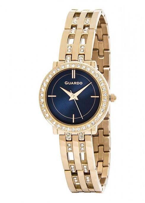 Жіночі наручні годинники Guardo P12178(m) RgBl