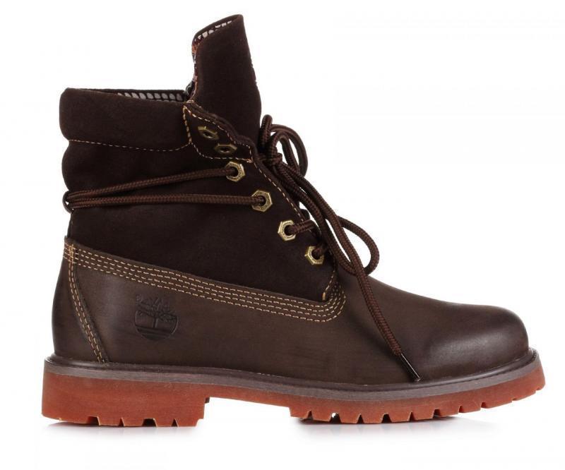 Мужские ботинки Timberland Bandits Brown (Тимберленд) - коричневые