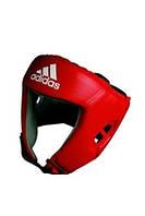 AIBA защитный шлем для бокса Красный