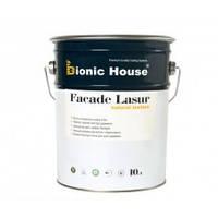 Лазурь для дерева на основе льняного масла (Bionic Fasade Lasur) 10 л
