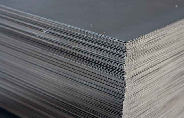 Лист стальной 80мм Сталь 09Г2С горячекатаный