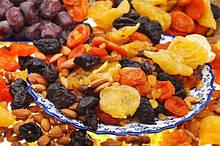 Сухофрукти,зацукровані фрукти, ліофілізовані фрукти