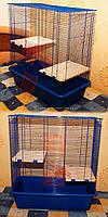 Вольер, клетка вольер для хорьков, шиншил, белок, бурундуков №033 с мелким шагом решетки