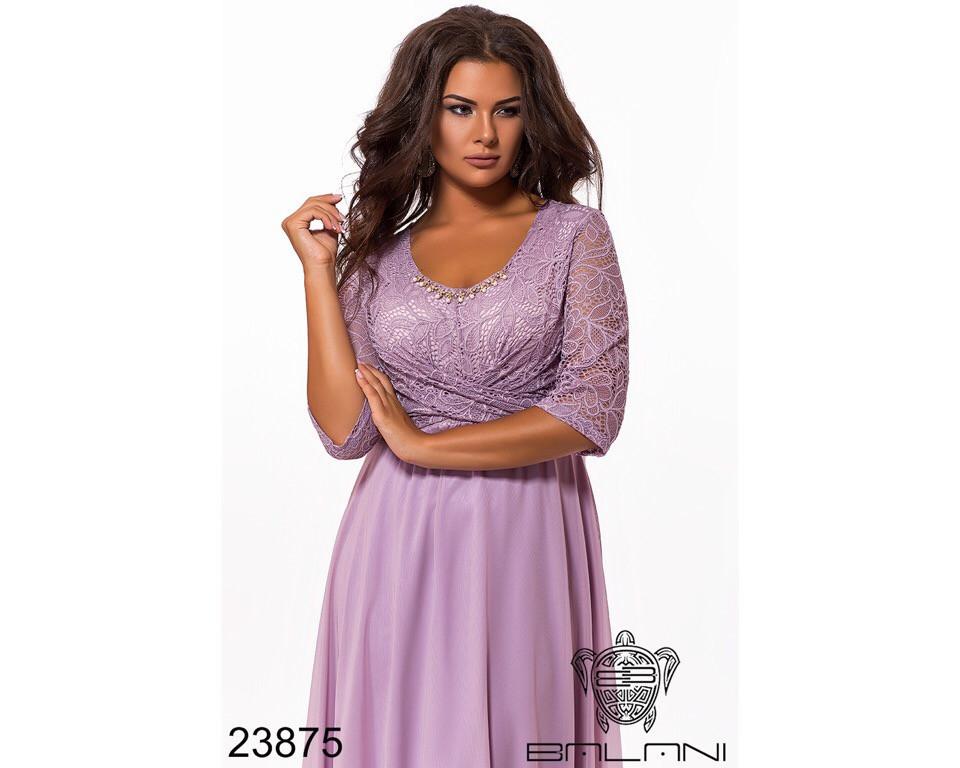 Платье женское. Модель #259-4 Р.-р. 52-54