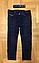 Джинсовые брюки на флисе для мальчиков, Венгрия, CQ, 134  рр., Арт.CQ7117 ,, фото 2