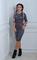 """Стильное,модное красивое платье """"244"""" Размеры 44."""