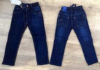 Джинсовые брюки на флисе для мальчиков, Венгрия,Taurus ,110рр., арт. А 910 ,