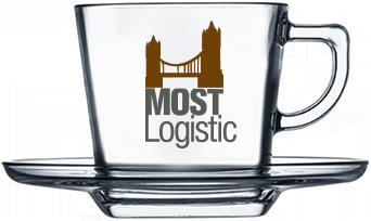 Чашка квадратная с логотипом 215 мл