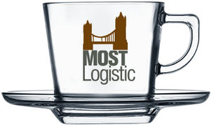 Чашка квадратная с логотипом 215 мл, фото 2