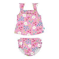 Комплект из майки и трусиков для плавания I Play Light Pink Daisy Fruit 18 мес (713175-2301-44)