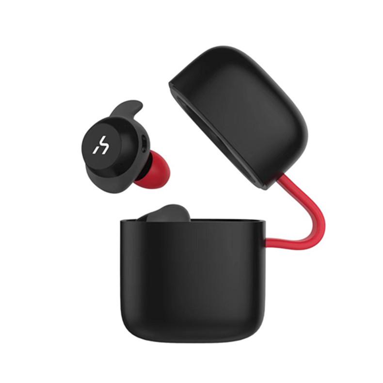 [Действительнобеспроводной]HavitG1СпортивныйIPX5 Водонепроницаемы Стерео Bluetooth 5.0 Наушник с зарядкой Коробка - 1TopShop