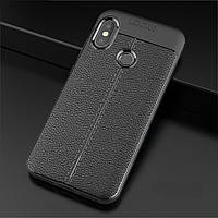Чехол для Xiaomi Mi A2 / Mi 6X силикон Original Auto Focus Soft Touch черный