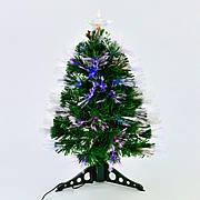 Искусственная елка с подсветкой 60 см 55 веток Зеленый (29327)