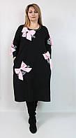 Платье оригинальное,с бантами Puasson Турция,рр 52-64