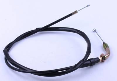 Трос дроссельной заслонки L-1050mm (верх резьба - низ трос) - ZUBR, фото 2