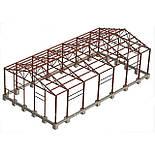 Ангар 20х72х5 склад, каркас, 1440 кв.м. новий, металоконструкція, фото 9