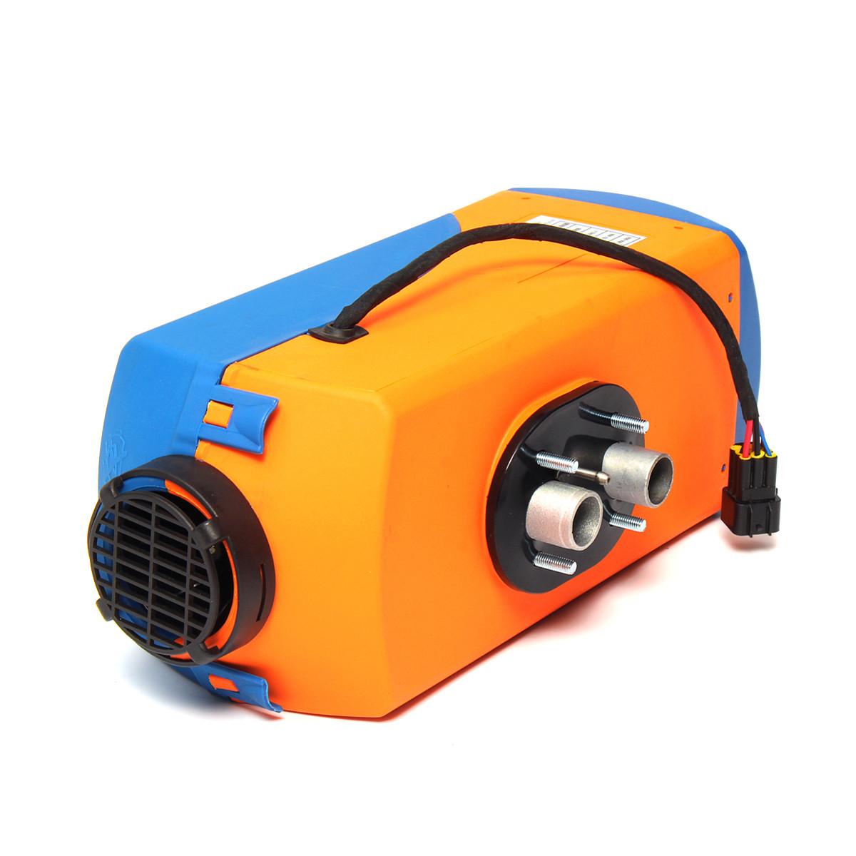 12V 24V 3KW Дизель Воздушная парковка Нагреватель Дизельное отопление Воздух  Нагреватель LCD Экран с глушителем 1TopShop 18b949d13d803