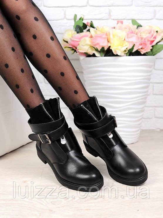 Ботинки LuX с пряжкой